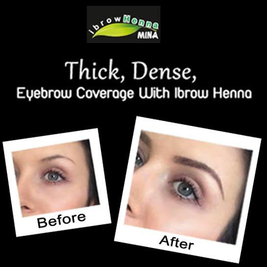 Now in salon…Henna Brows!